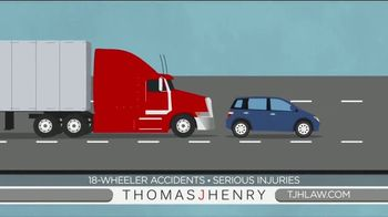 Thomas J. Henry Injury Attorneys TV Spot, 'Simple as 1-2-3: Truck Accident Lawyers'