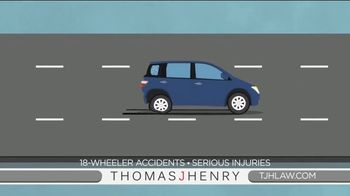 Thomas J. Henry Injury Attorneys TV Spot, 'Simple as 1-2-3: Truck Accident Lawyers' - Thumbnail 3