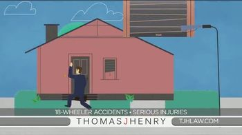 Thomas J. Henry Injury Attorneys TV Spot, 'Simple as 1-2-3: Truck Accident Lawyers' - Thumbnail 5