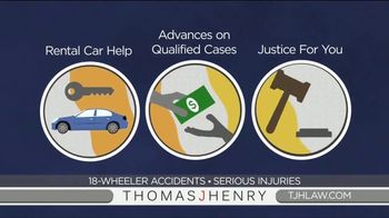 Thomas J. Henry Injury Attorneys TV Spot, 'Simple as 1-2-3: Truck Accident Lawyers' - Thumbnail 7