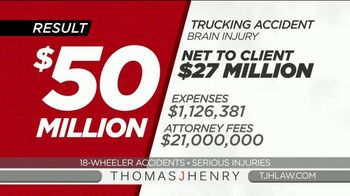 Thomas J. Henry Injury Attorneys TV Spot, 'Simple as 1-2-3: Truck Accident Lawyers' - Thumbnail 8