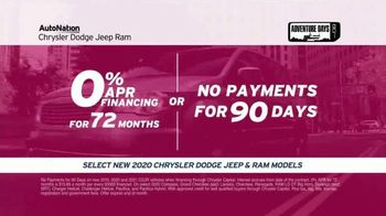 AutoNation Adventure Days TV Spot, 'I Drive Pink: 2020 Chrysler, Dodge, Jeep and Ram Models' Song by Andy Grammer - Thumbnail 5
