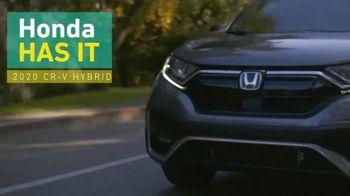 2020 Honda CR-V TV Spot, 'Honda Has It: CR-V' [T2] - Thumbnail 4
