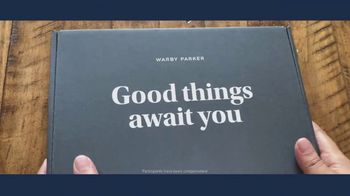 Warby Parker TV Spot, 'Home Try-On + Virtual Try-On Testimonials Pt.1' - Thumbnail 1