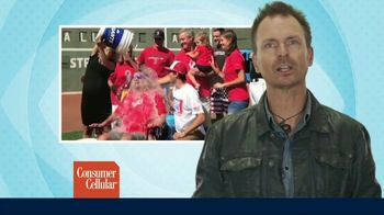 Consumer Cellular TV Spot, 'The Power of Connection: Ice Bucket Challenge' Ft. Phil Keoghan - 1 commercial airings
