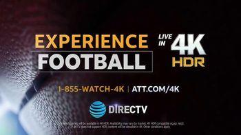 DIRECTV TV Spot, 'Experience Football in 4K' - Thumbnail 8
