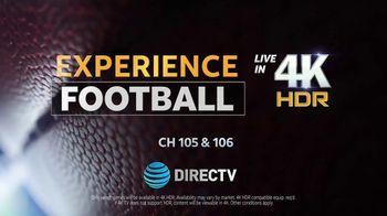 DIRECTV TV Spot, 'Experience Football in 4K' - Thumbnail 7