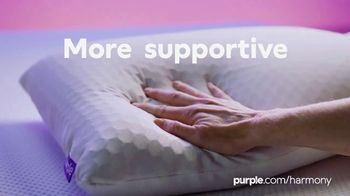 Purple Harmony Pillow TV Spot, 'Greatest Pillow Ever Invented: 10% Off' - Thumbnail 5