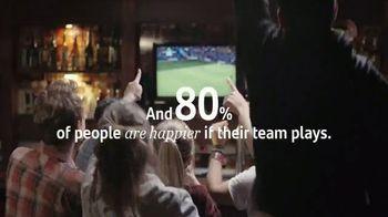 Santander Bank TV Spot, 'Game Day: 80% Happier' - Thumbnail 4