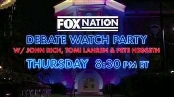 FOX Nation TV Spot, 'Debate Watch Party' - Thumbnail 8