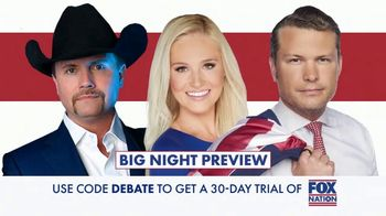 FOX Nation TV Spot, 'Debate Watch Party' - Thumbnail 5