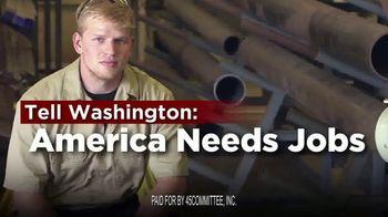 45Committee TV Spot, 'Jobs vs. Mobs'