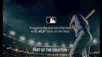 Spectrum Solutions TV Spot, 'Providing Test Kits to the MLB' - Thumbnail 10