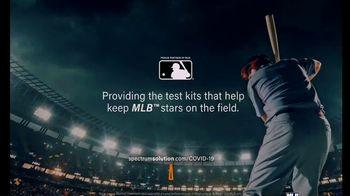Spectrum Solutions TV Spot, 'Providing Test Kits to the MLB' - Thumbnail 9