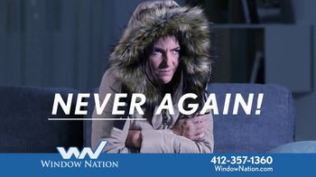 Window Nation TV Spot, 'Never Again: House of Windows for $75 a Month'