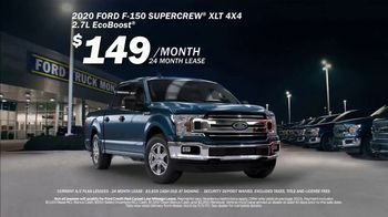 Ford Truck Month TV Spot, 'Current A/Z Plan Lessees: F-150' [T2] - Thumbnail 1