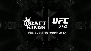 DraftKings Sportsbook TV Spot, 'UFC 254: Bet $1 to Win $100' - Thumbnail 8
