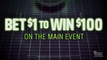 DraftKings Sportsbook TV Spot, 'UFC 254: Bet $1 to Win $100' - Thumbnail 4