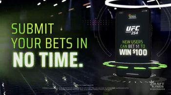 DraftKings Sportsbook TV Spot, 'UFC 254: Bet $1 to Win $100' - Thumbnail 5