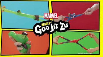 Marvel Heroes of Goo Jit Zu TV Spot, 'Gooier Than Ever' - Thumbnail 2