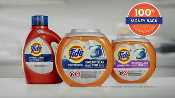 Tide Hygienic Clean Heavy Duty TV Spot, 'Hygienic Clean You Can Trust' - Thumbnail 10