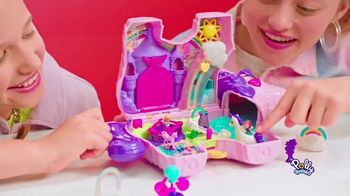 Polly Pocket Unicorn Party Play Set TV Spot, 'Surprises'