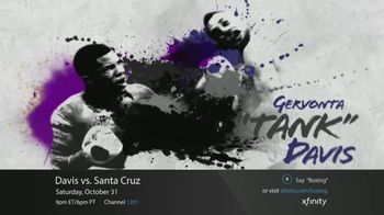 XFINITY On Demand TV Spot, 'Premier Boxing Champions: Davis vs. Santa Cruz' - Thumbnail 2