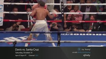 XFINITY On Demand TV Spot, 'Premier Boxing Champions: Davis vs. Santa Cruz' - Thumbnail 3