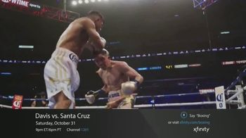 XFINITY On Demand TV Spot, 'Premier Boxing Champions: Davis vs. Santa Cruz' - Thumbnail 4