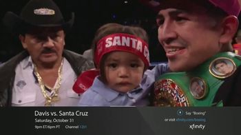 XFINITY On Demand TV Spot, 'Premier Boxing Champions: Davis vs. Santa Cruz' - Thumbnail 5