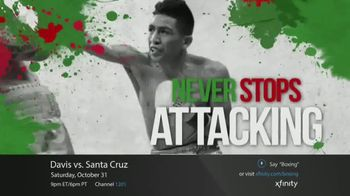XFINITY On Demand TV Spot, 'Premier Boxing Champions: Davis vs. Santa Cruz' - 35 commercial airings