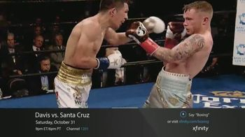 XFINITY On Demand TV Spot, 'Premier Boxing Champions: Davis vs. Santa Cruz' - Thumbnail 7