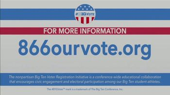 Election Protection TV Spot, 'Big Ten: Encourage More People to Vote' - Thumbnail 9
