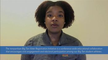 Election Protection TV Spot, 'Big Ten: Encourage More People to Vote' - Thumbnail 7