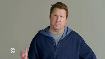 Wendy\'s Pretzel Bacon Pub Cheeseburger TV Spot, \'Comedy Central: Screen Test\' Feat. Nick Swardson