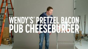 Wendy's Pretzel Bacon Pub Cheeseburger TV Spot, 'Comedy Central: Screen Test' Feat. Nick Swardson - Thumbnail 2