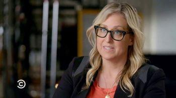 Wendy's Pretzel Bacon Pub Cheeseburger TV Spot, 'Comedy Central: Screen Test' Feat. Nick Swardson - Thumbnail 3