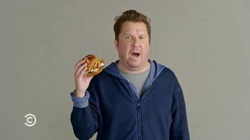 Wendy's Pretzel Bacon Pub Cheeseburger TV Spot, 'Comedy Central: Screen Test' Feat. Nick Swardson - Thumbnail 7