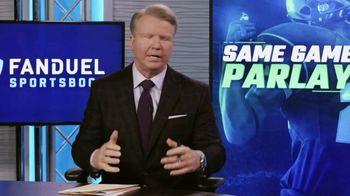 FanDuel Sportsbook TV Spot, 'Pre Game Parlay Show' Featuring Boomer Esiason - Thumbnail 3
