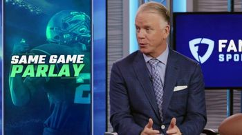FanDuel Sportsbook TV Spot, 'Pre Game Parlay Show' Featuring Boomer Esiason - Thumbnail 4