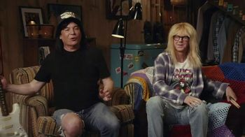 Uber Eats TV Spot, 'Wayne's World Shameless Manipulation' Ft. Mike Myers, Dana Carvey, Cardi B