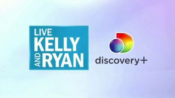 Discovery+ TV Spot, 'Live Kelly and Ryan: Exclusive Originals' - Thumbnail 1