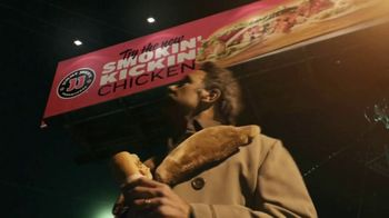 Jimmy John's Smokin' Kickin' Chicken TV Spot, 'Smoke' Featuring Brad Garrett - Thumbnail 1