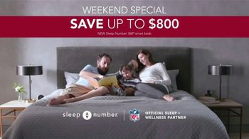 Ultimate Sleep Number Event TV Spot, 'Weekend Special: Save up to $800' - Thumbnail 9