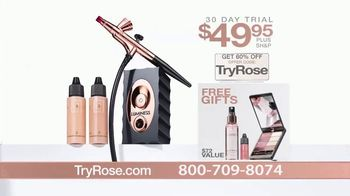 Luminess Air Rose Airbrush TV Spot, 'Look Younger Fast' - Thumbnail 5