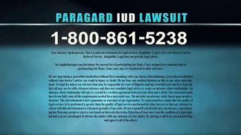 Knightline Legal TV Spot, 'Paragard IUD' - Thumbnail 8