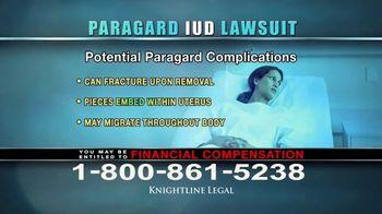 Knightline Legal TV Spot, 'Paragard IUD' - Thumbnail 4