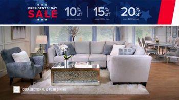 Value City Furniture Presidents Day Sale TV Spot, 'Designer Looks'