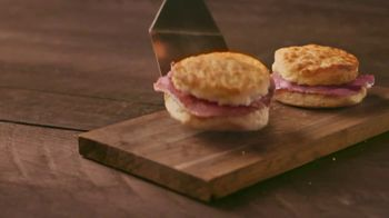 Bojangles Country Ham Biscuit TV Spot, 'Two for $3.50' - Thumbnail 1