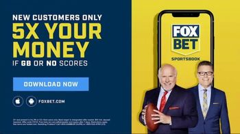 FOX Bet Sportsbook App TV Spot, 'Next Level: 5X Your Money' Featuring Howie Long, Terry Bradshaw - Thumbnail 9